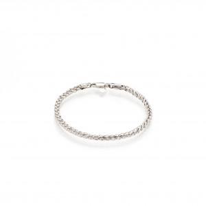 Bracelet inSPire en or 10k blanc : pour charm Pandora
