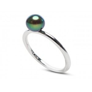 Genuine Cultured Freshwater Pearl Ring